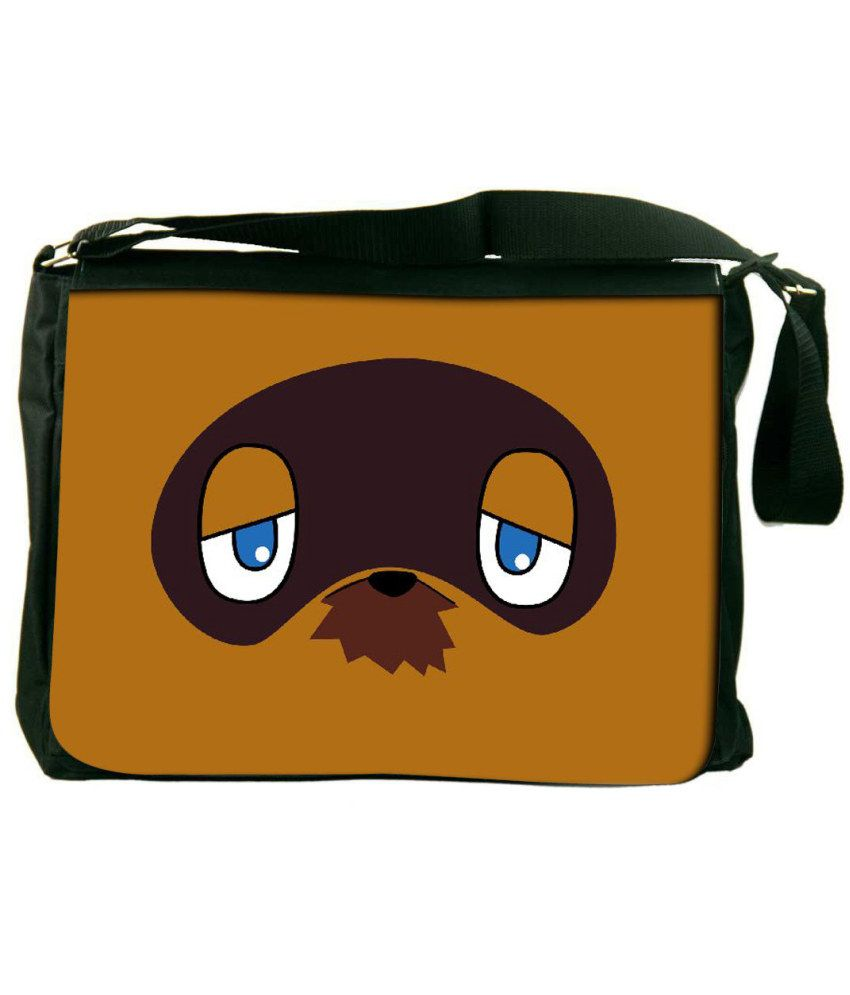 Snoogg Brown Laptop Messenger Bag Brown Messenger Bag