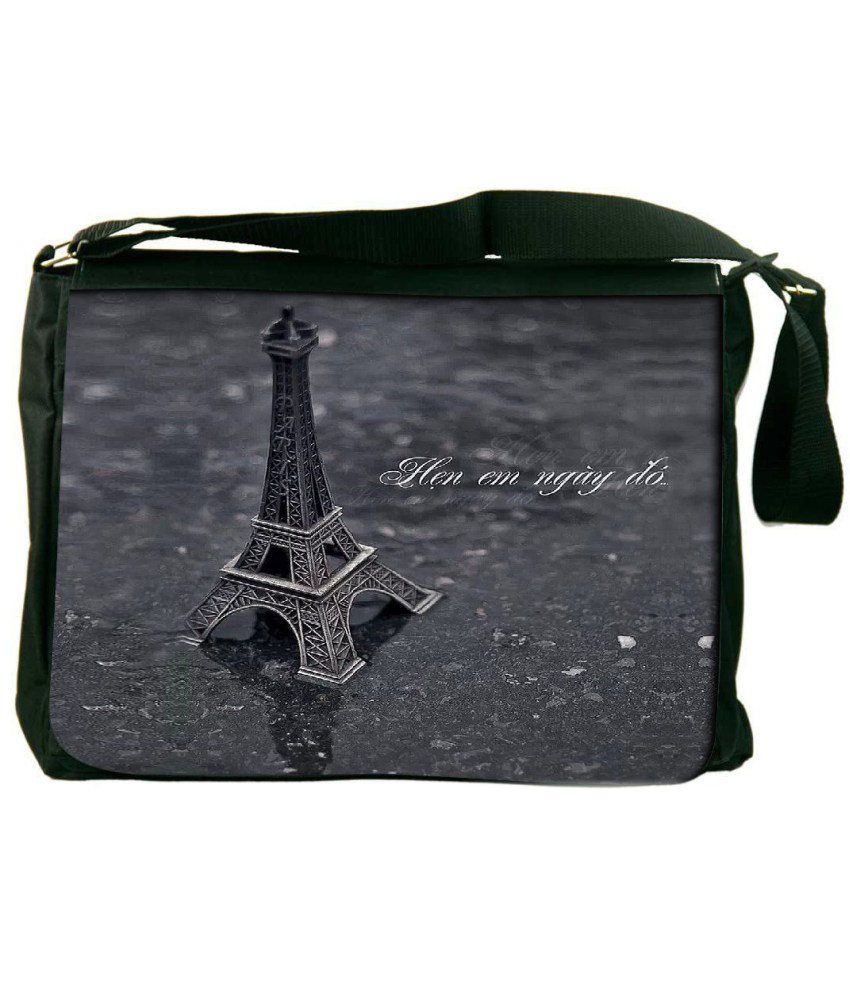 Snoogg Gray Laptop Messenger Bag Gray Messenger Bag