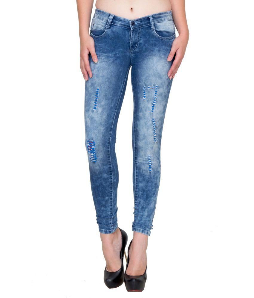 Fasnoya Blue Denim Jeans