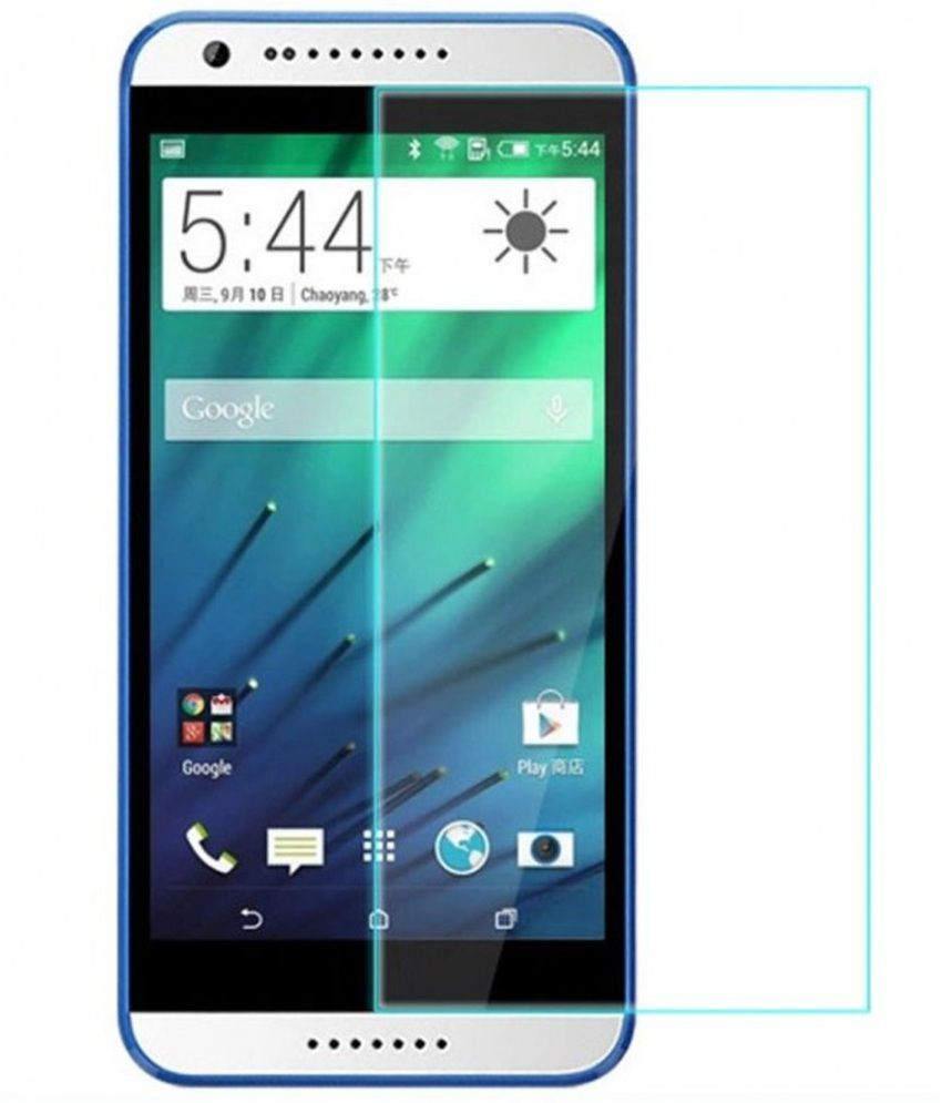 Oxygen Hd Tempered Glass Screen Guard For Htc 820