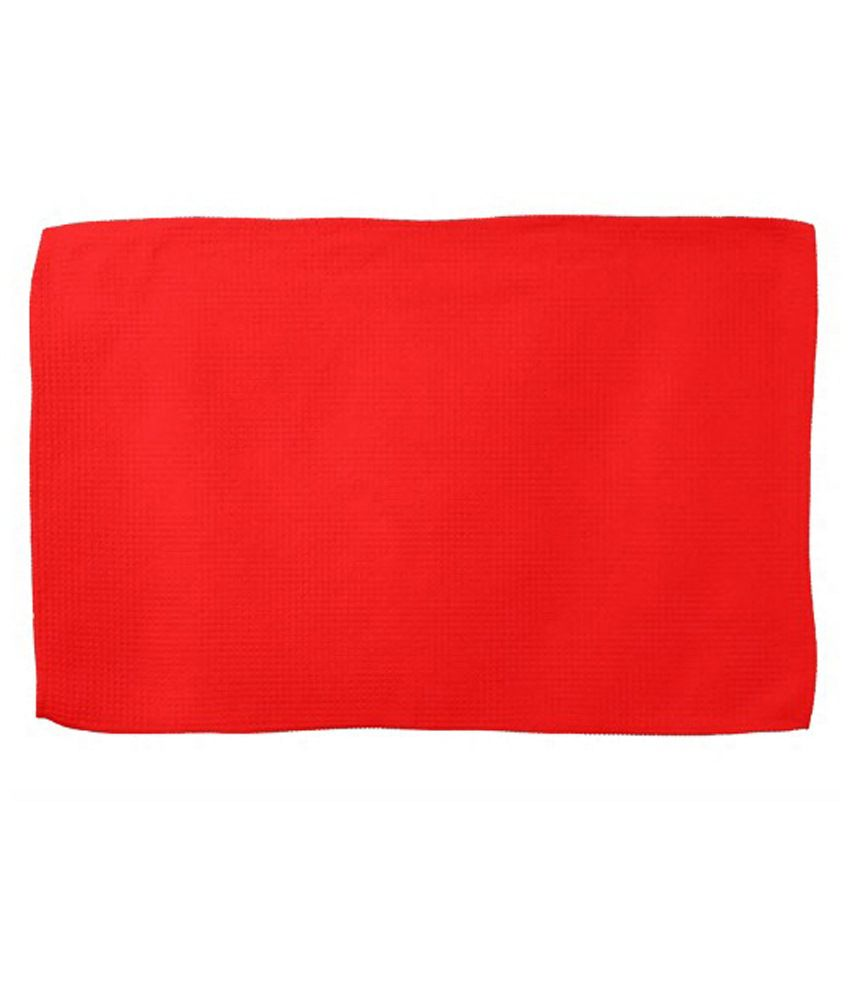 CASA Single Cotton Hand Towel - Red