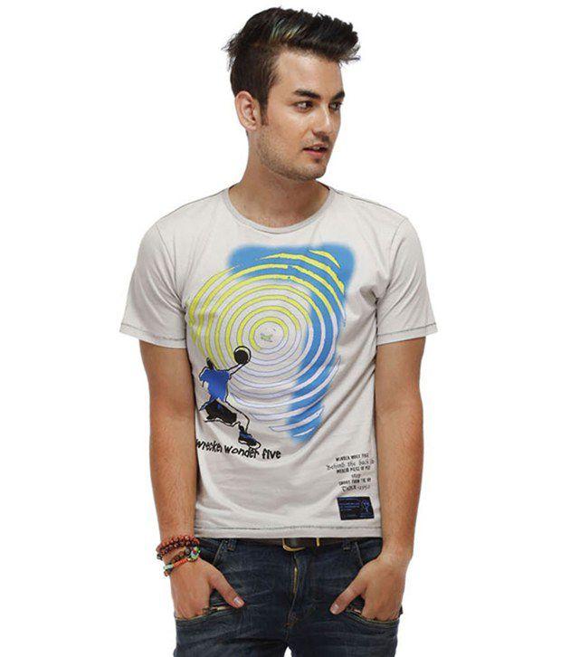 Chlorophile Gray Rebound Organic Cotton T-Shirt