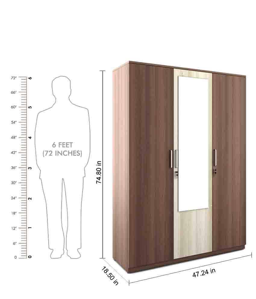Spacewood Crescent Bedroom Set Queen Storage Bed 3 Door