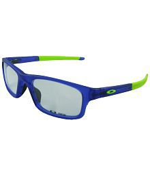 Oakley OX-8037-04-52 Crosslink Pitch  Great Blue Unisex Rectangular Eyeglasses Frame with Carry Case. for sale  Delivered anywhere in India