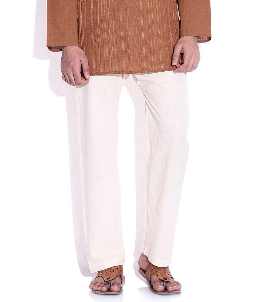 huge discount 866cf a9607 Fabindia Beige Cotton Pyjama
