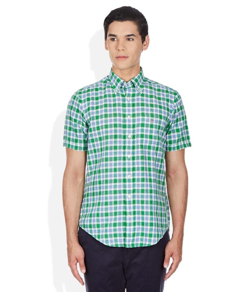 GANT Green Checkered Shirt
