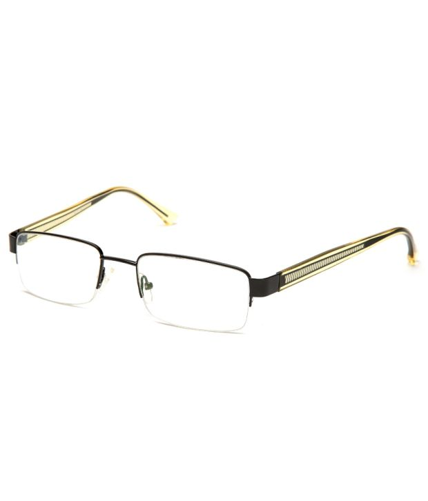 b9591841ce Vivid Eyewear 5106Black Metal Half Rim Frame for Men - Buy Vivid Eyewear  5106Black Metal Half Rim Frame for Men Online at Low Price - Snapdeal