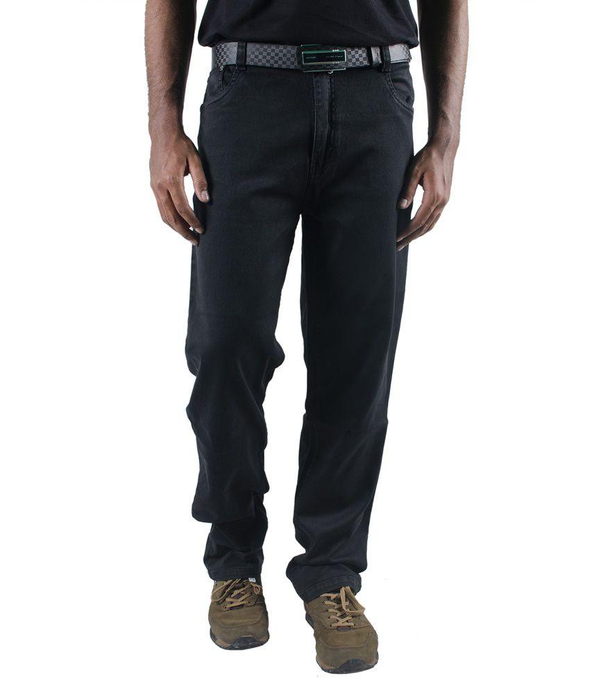 0-Degree Denim Grey Regular Slim Fit Jeans