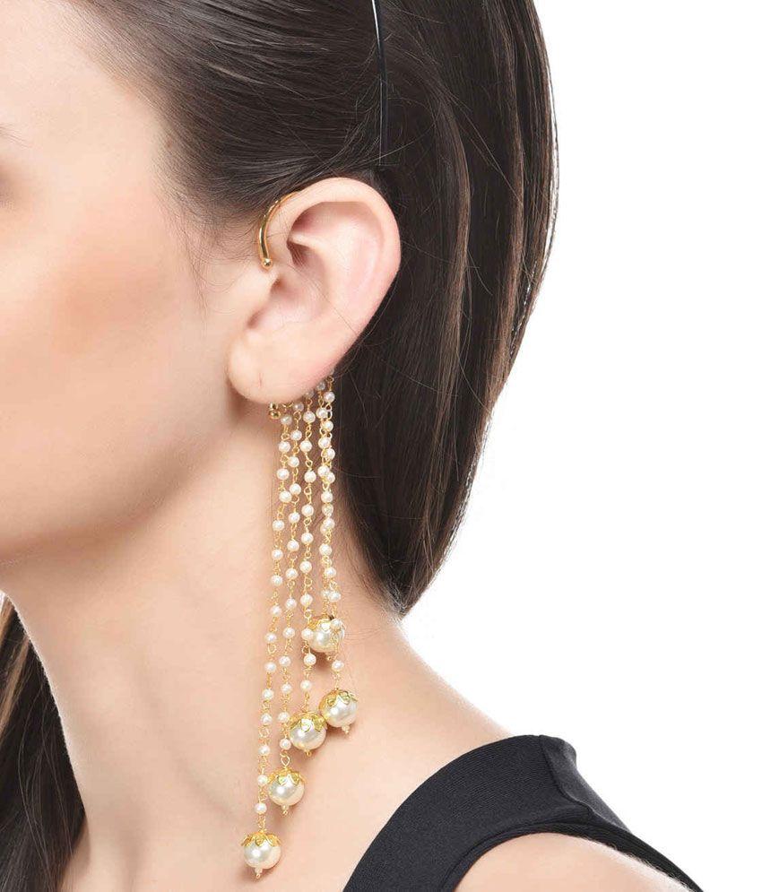 ShinningDiva Glitzy Style Diva Ear cuffs