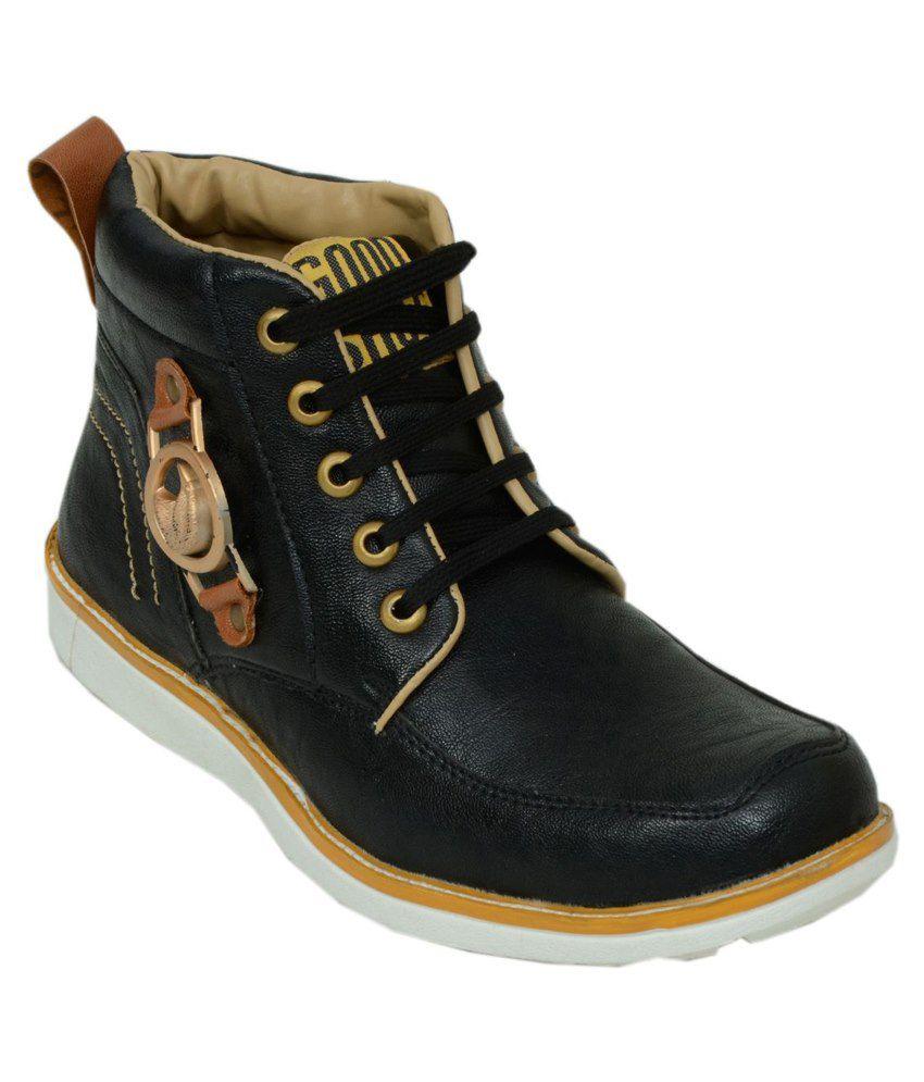 Salvi Black Boots