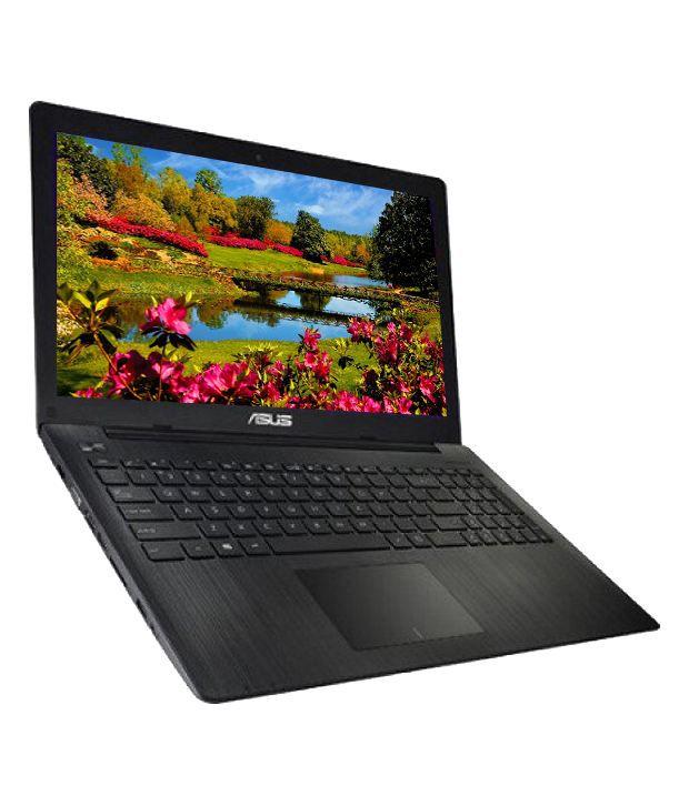 Asus X554LD-XX616D Notebook (4th Gen Intel Core i3- 2GB RAM- 500GB HDD- 39.62 cm (15.6)- DOS- 1GB Graphics) (Black)