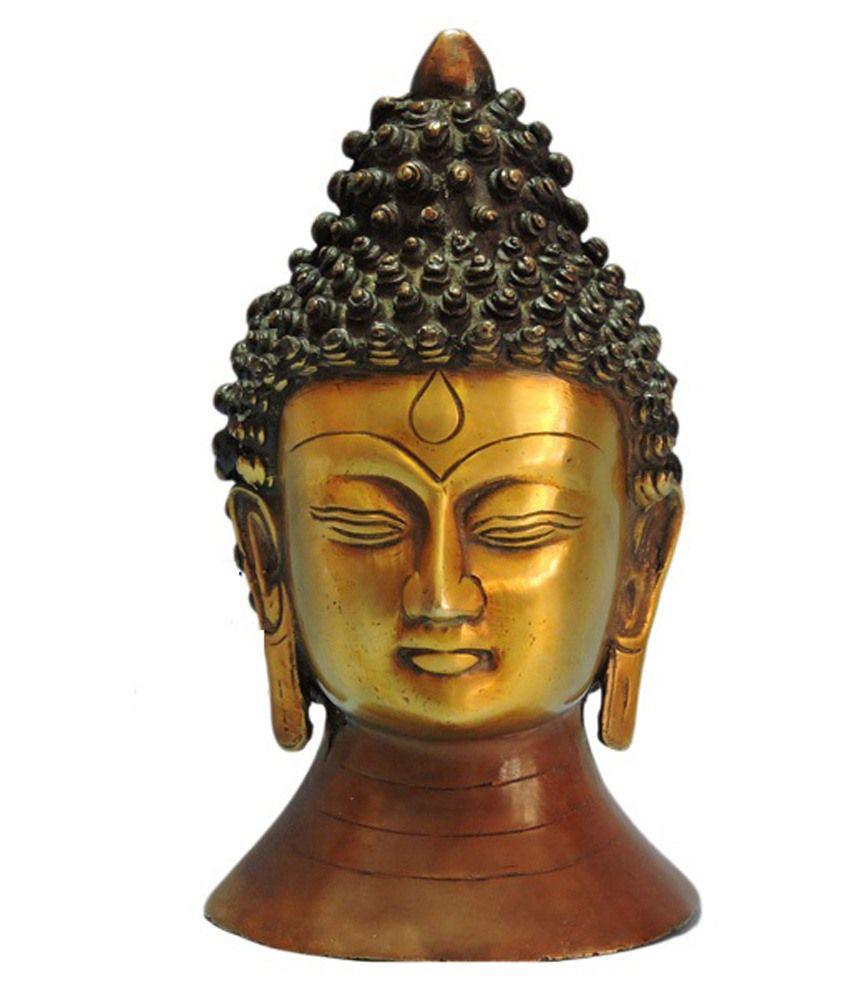 MP Craft Brass Buddha Idol
