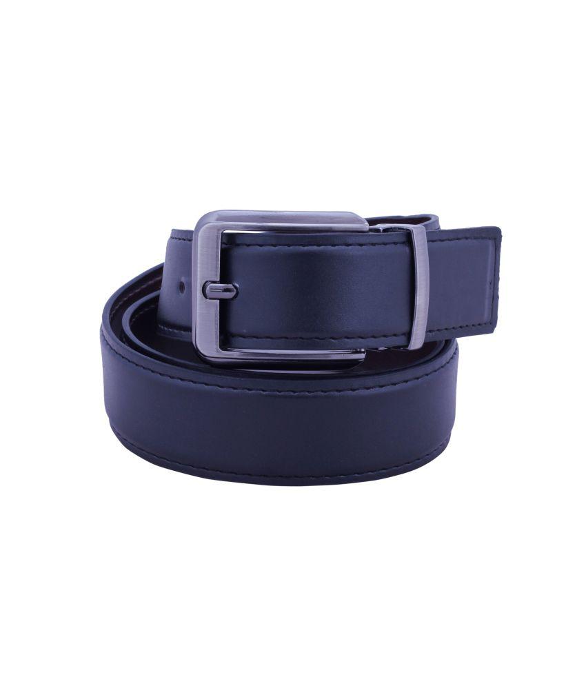 osaiz black leather belt buy at low price in india
