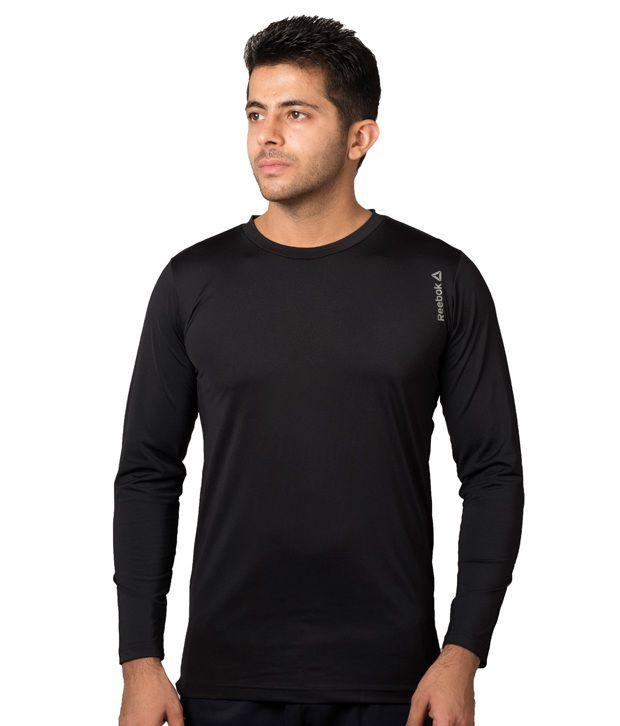 Reebok black crossfit drifit t shirt buy reebok black for Reebok crossfit t shirts