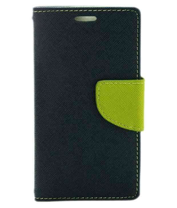 pretty nice e4648 dd3d2 Jma Wallet Cover For Samsung Galaxy Grand Prime - Blue