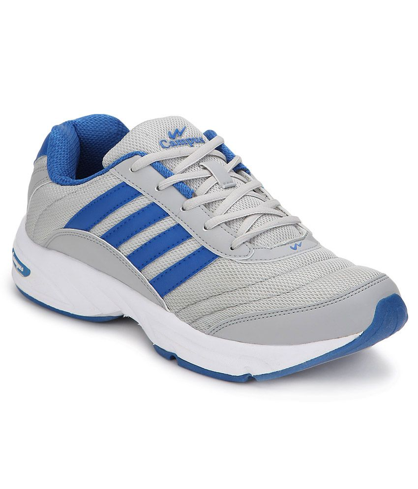 sport shoes campus 3g gray sports footwear india running