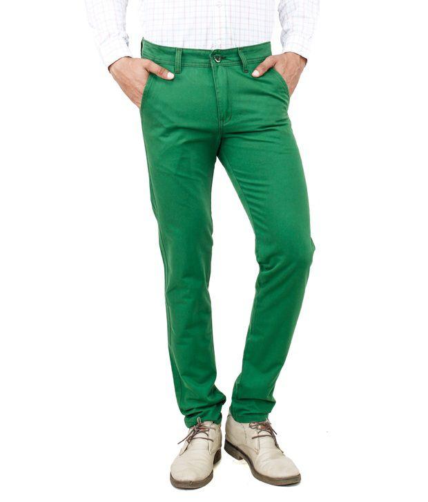 Uber Urban Rocky Trouser Green