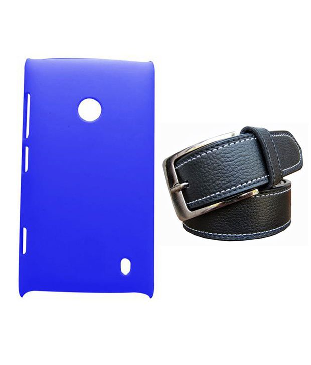 Winsome Deal Black Belt with Back Cover Case for Nokia Lumia 520