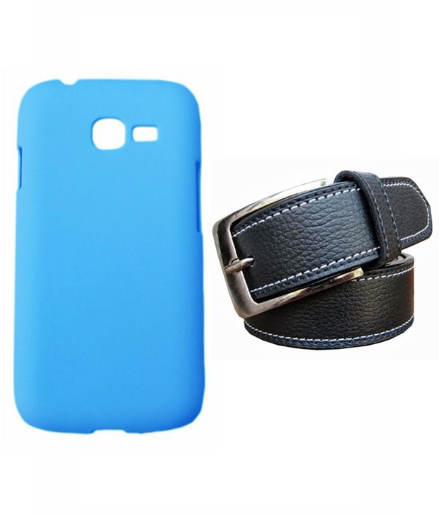 Winsome Deal Black Belt with Back Cover Case for Samsung Galaxy Star Pro S7262