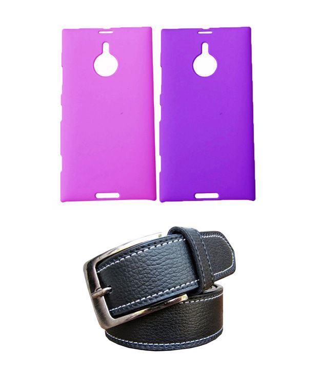 Winsome Deal Black Belt with 2 Back Cover Cases for Nokia Lumia 1520