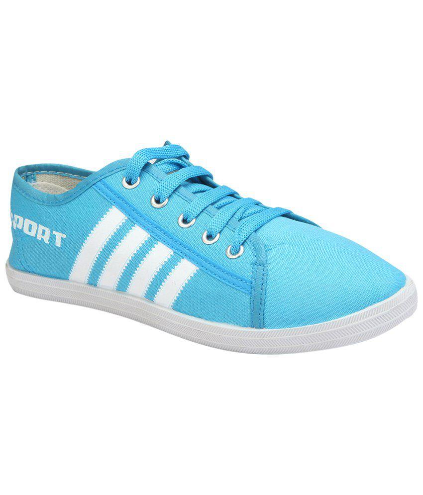 White Casual Shoes Yepme