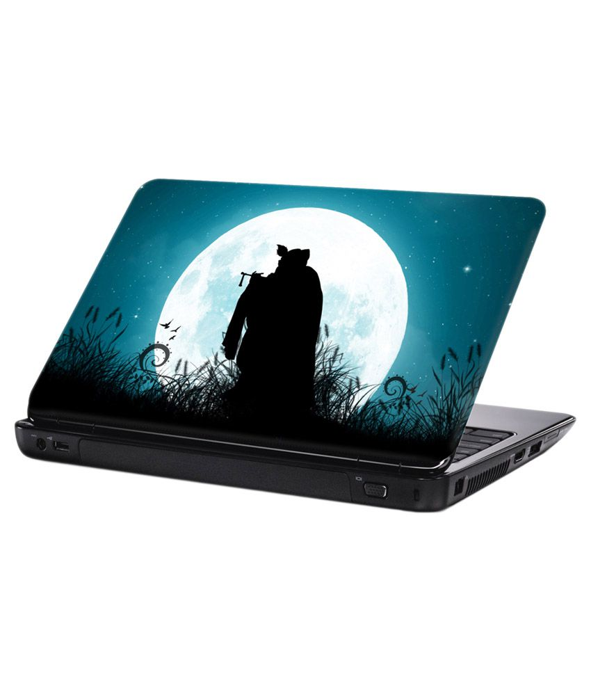 The Shadow Of Krishna 15 6 Inch Laptop Notebook Skin Sticker Cover Art Decal Fits 13 3 14 15 6 Hp Dell Lenovo Apple Asus Acer Compaq By Bs Buy The Shadow Of Krishna