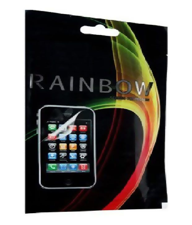 Rainbow Screen Guard for Micromax Canvas Hue 2 A316