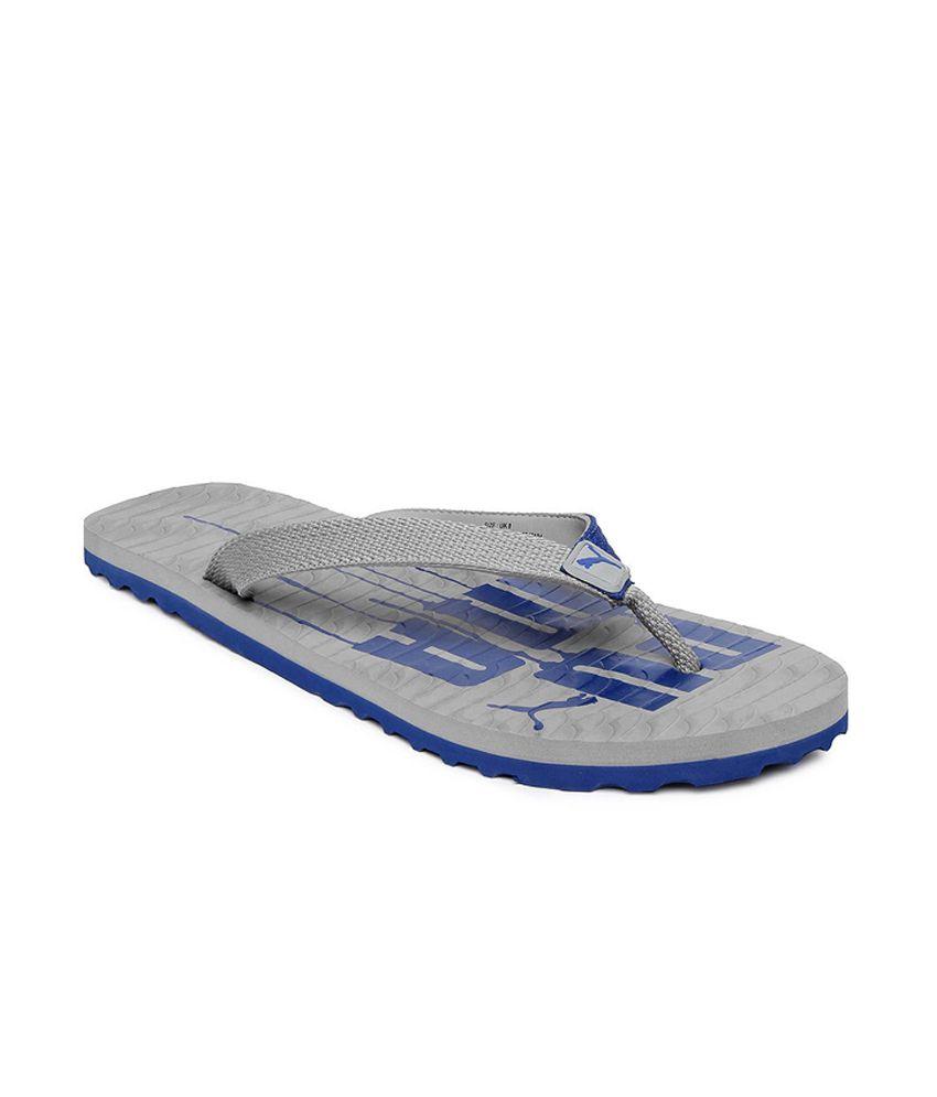 puma-men-grey-miami-v-flip-flops Price in India- Buy puma-men-grey-miami-v- flip-flops Online at Snapdeal d5e99a294