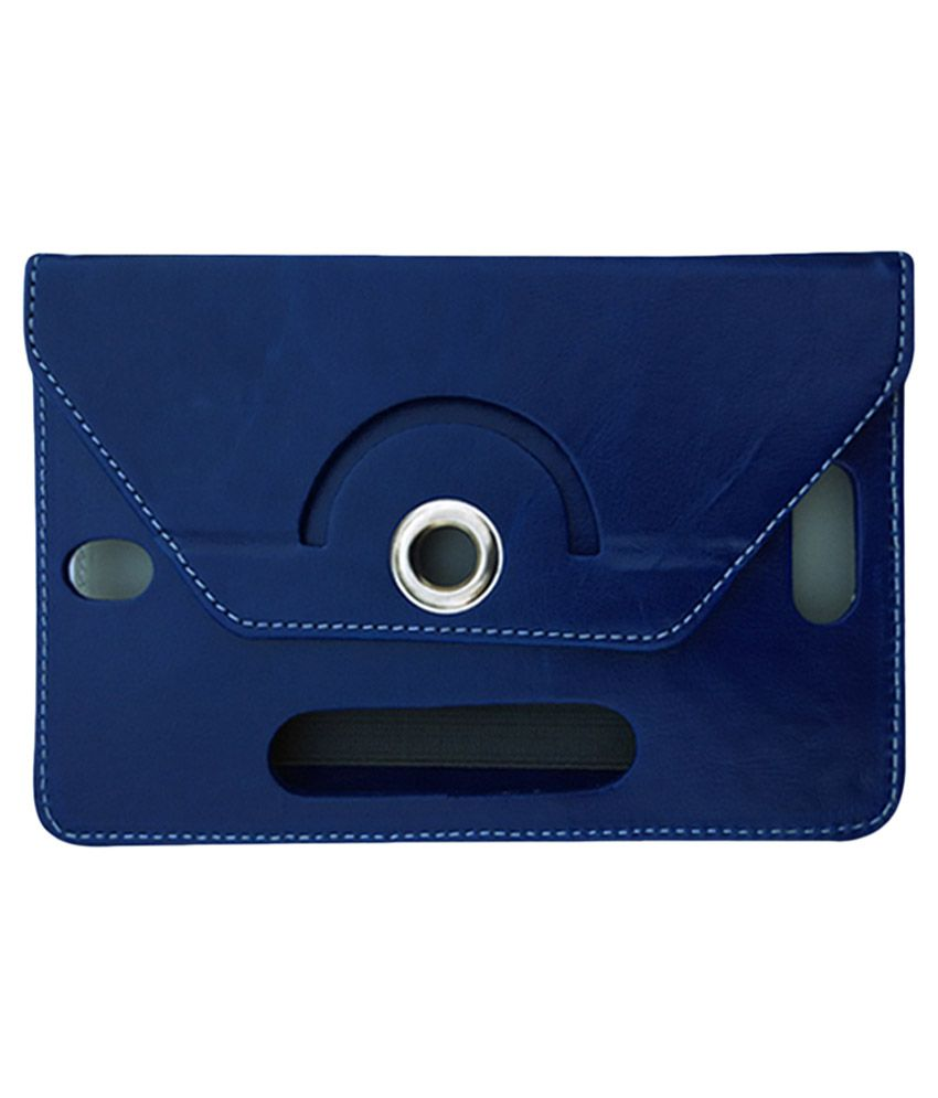 Fastway Flip Stand Cover For Celkon CT 7 Tablet - Blue