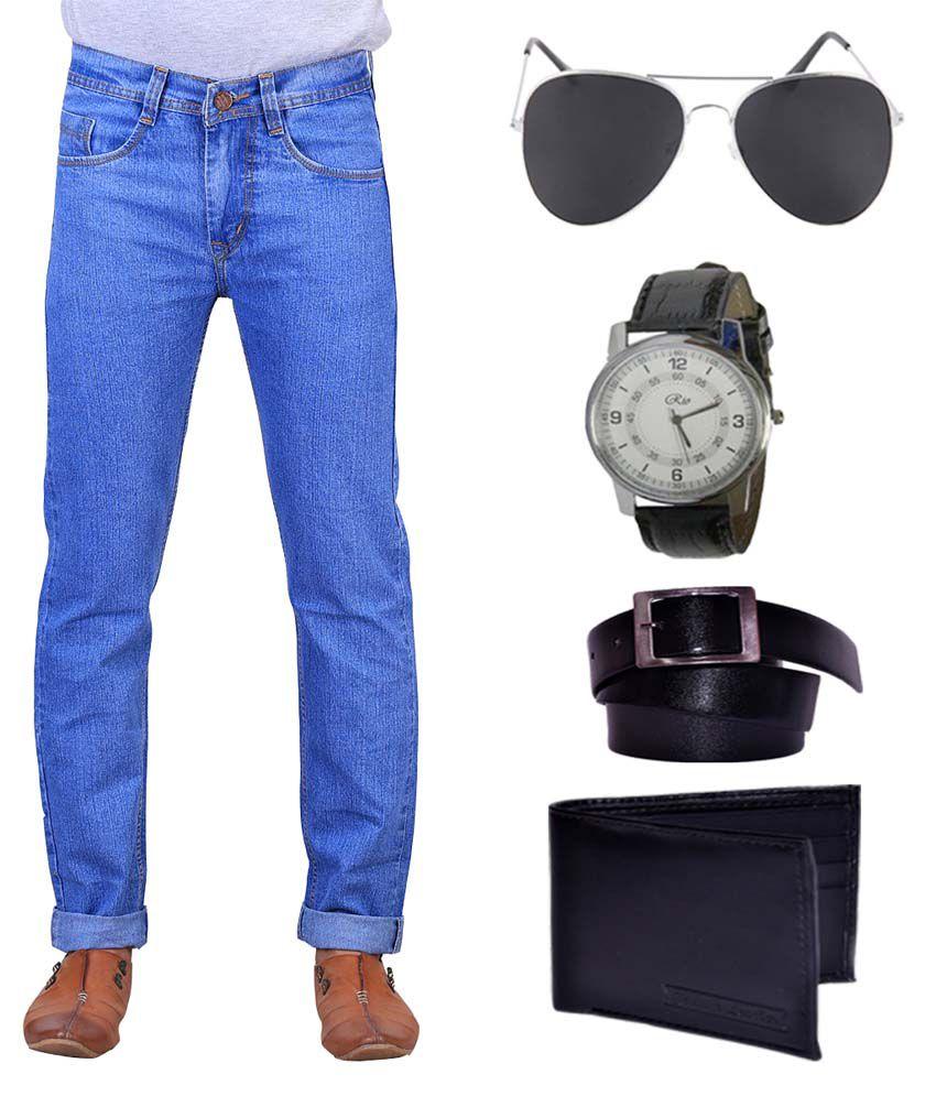 X-cross Cotton Blend Regular Fit Jeans