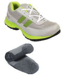 Rod Takes Green Sports Shoes