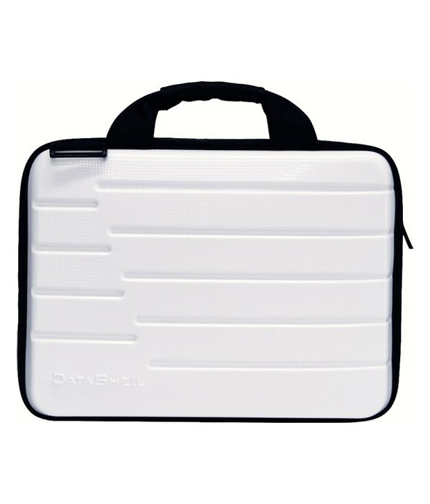 Datashell White Medium Briefcase