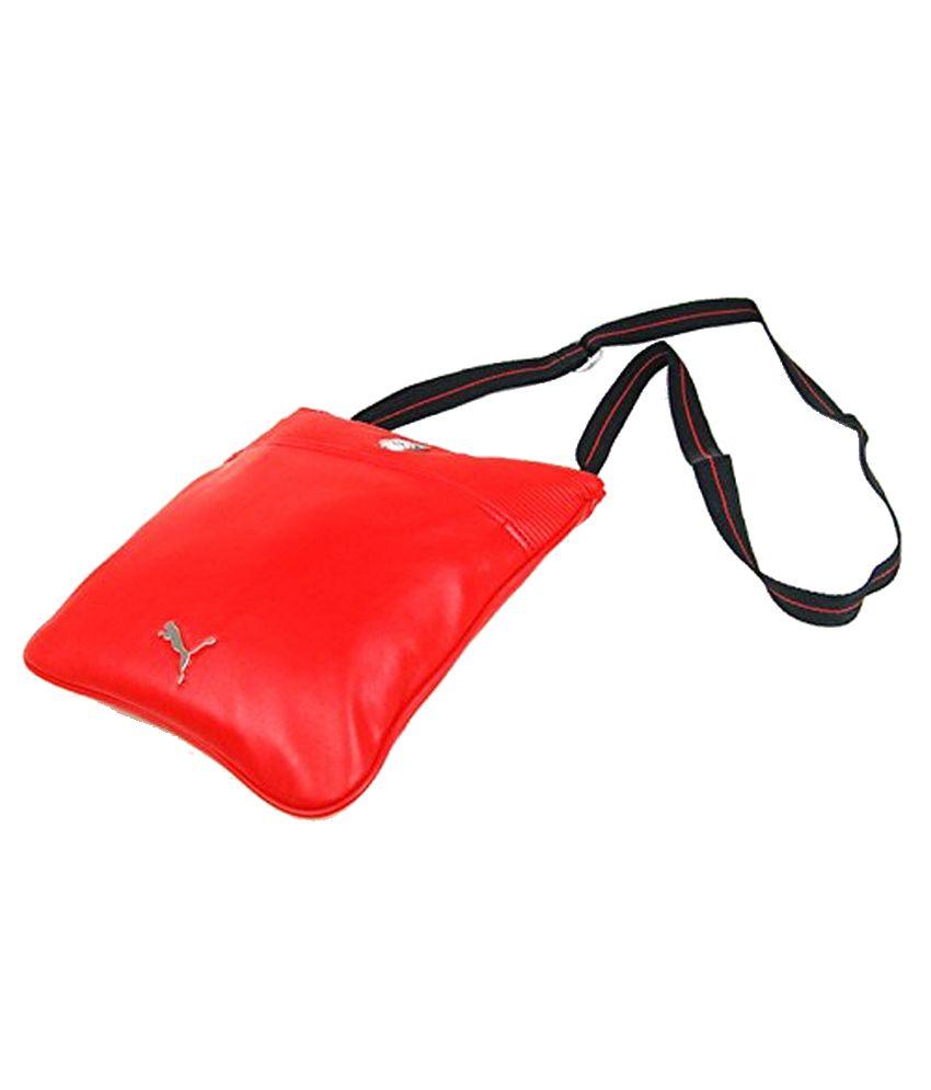 70b4ea915b54 Puma Ferrari 7348902 Red Sling Bag - Buy Puma Ferrari 7348902 Red Sling Bag  Online at Low Price - Snapdeal