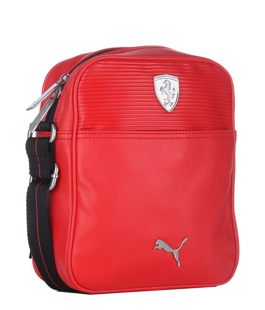 15348095492e Puma Ferrari 7349202 Red Sling Bag - Buy Puma Ferrari 7349202 Red Sling Bag  Online at Low Price - Snapdeal