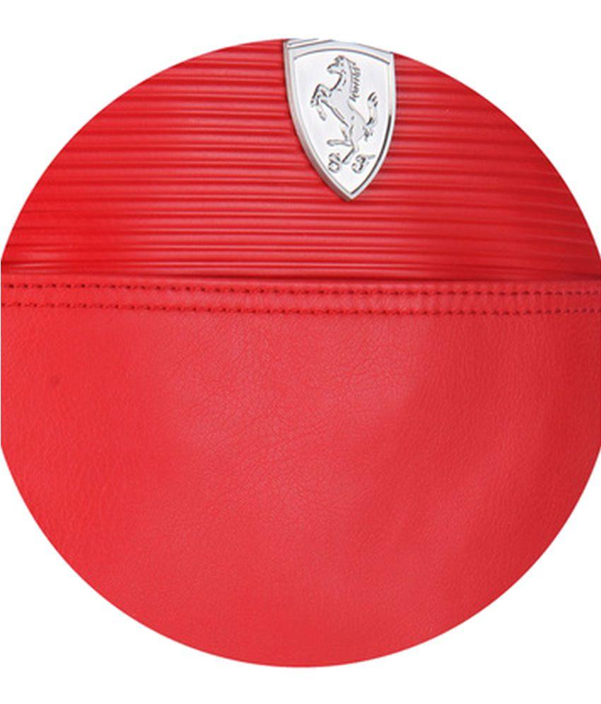 9c2ae37893a Puma Ferrari 7349202 Red Sling Bag - Buy Puma Ferrari 7349202 Red ...