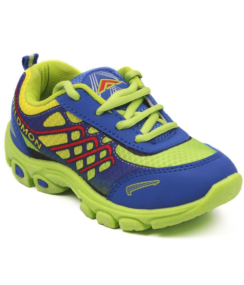 Asian Blue Sports Shoes For Kids