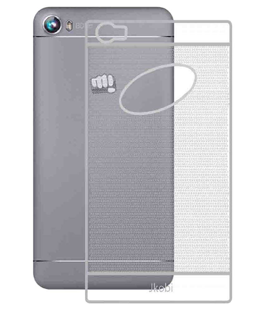 purchase cheap f3c90 b0c76 Jkobi Transparent Back Cover for Micromax Canvas Fire 4 A107 - Plain ...