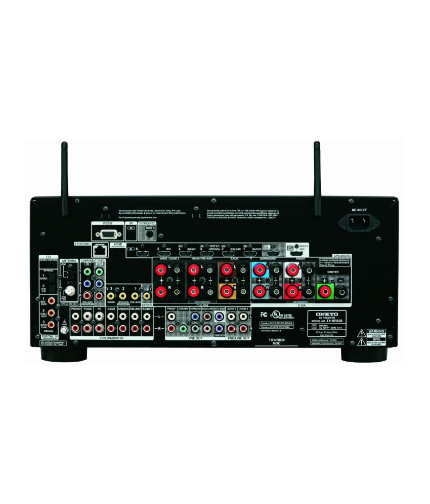 Buy Onkyo TX-NR838 8 1 AV Receiver Online at Best Price in India