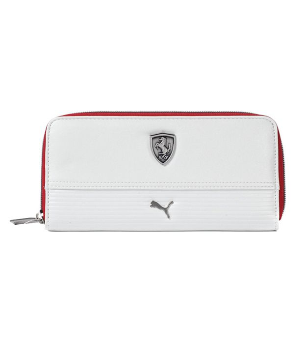 2216caa7d2 Puma Ferrari Non Leather White Women Formal Wallet: Buy Online at Low Price  in India - Snapdeal