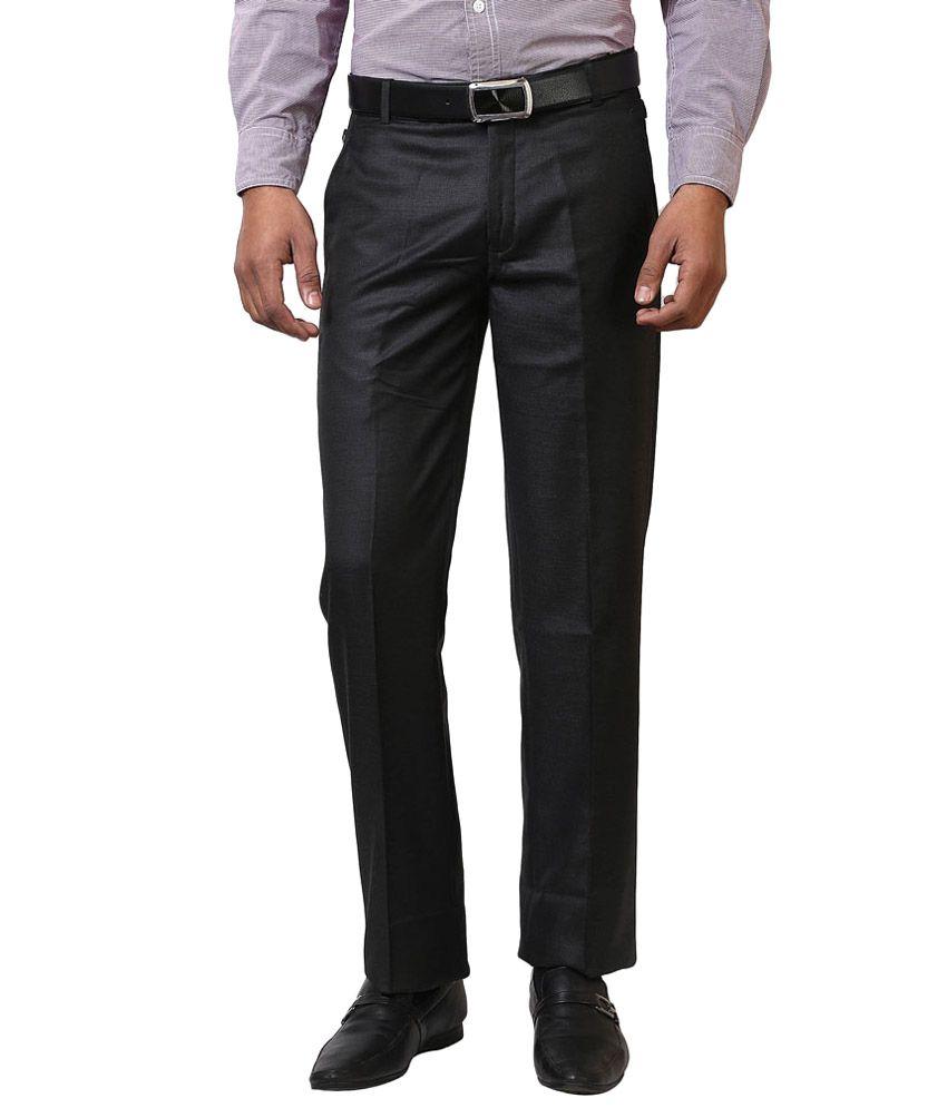 Rising Black Regular Formal Pack Of 3 Flat