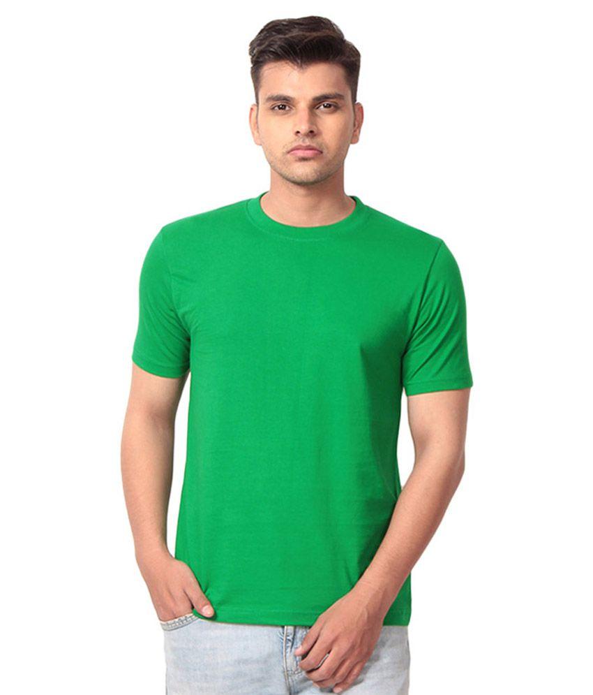 Tendency Plus Green Cotton T-shirt