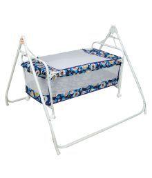 Birdie Blue Cradle Cum Cot