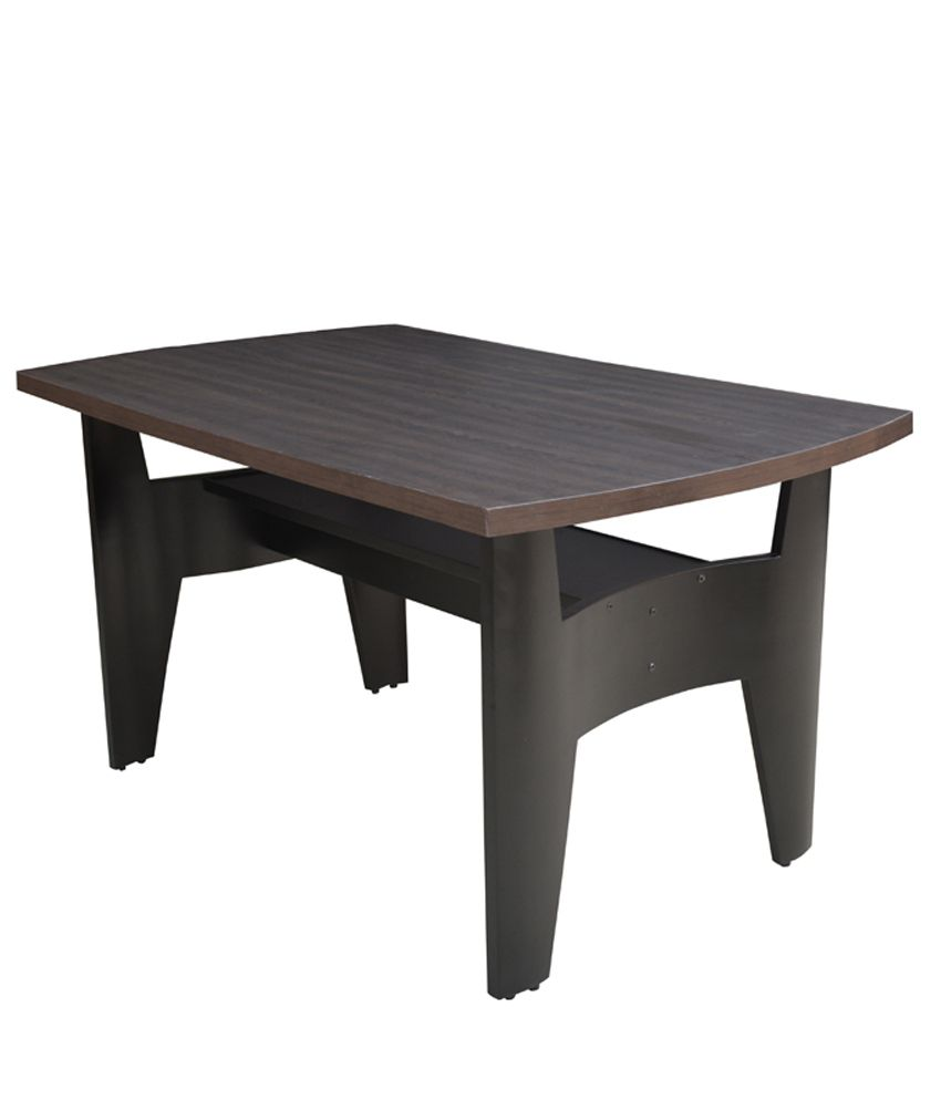 4 Seater Dining Table in Brown - Buy 4 Seater Dining Table ...