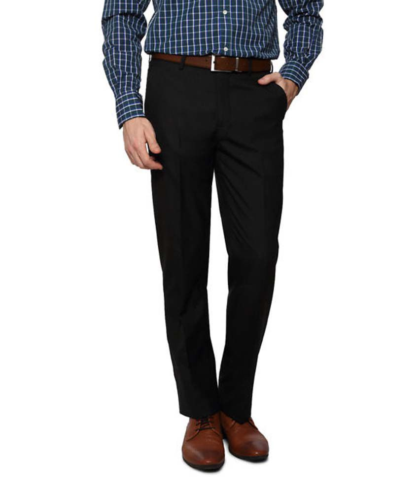 AD & AV BLACK REGULAR FORMAL TROUSER