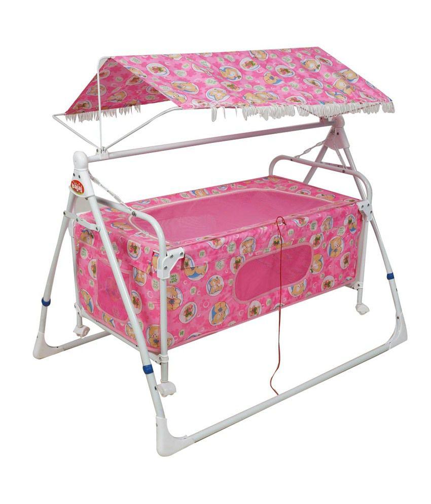 Birdie Pink Cradle Cum Cot