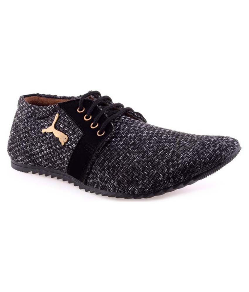 ea29c3ef7ff74 VS JUTE BLACK DESIGNER MEN SHOES