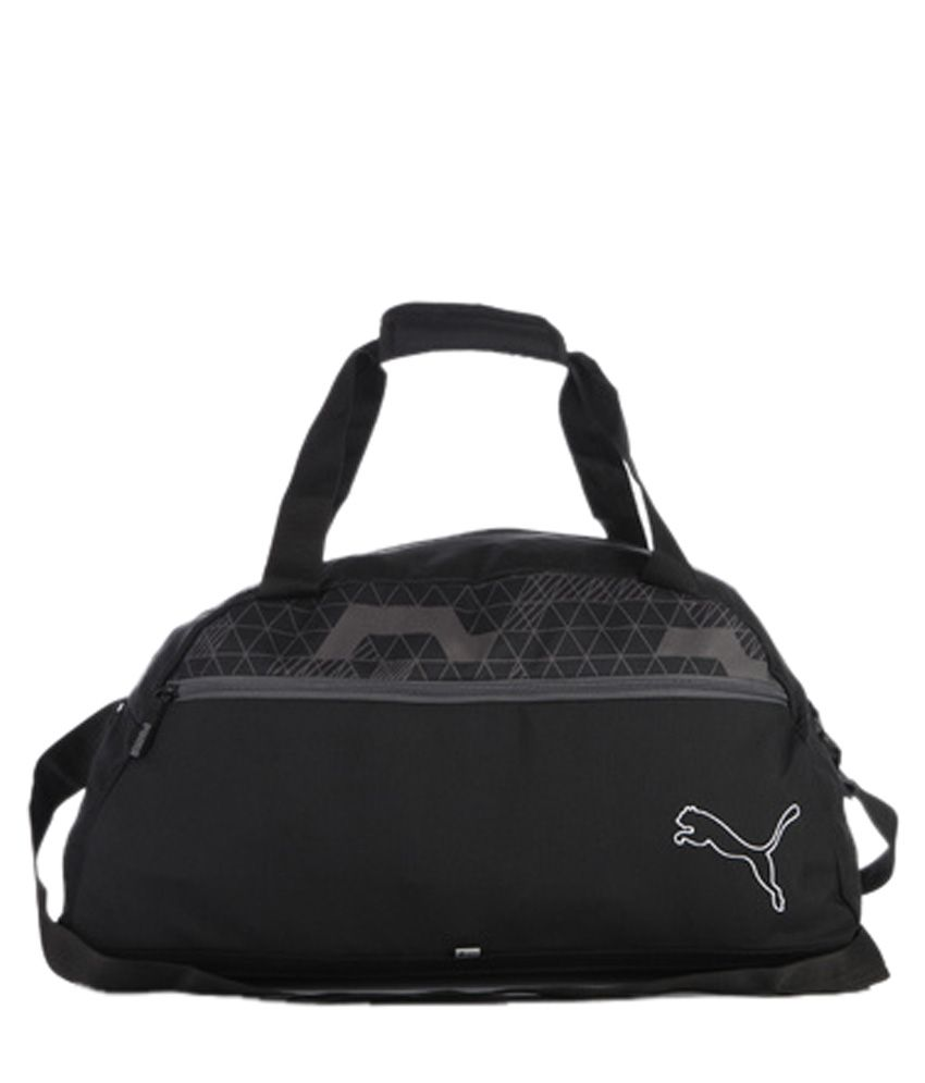 puma gym bag grey