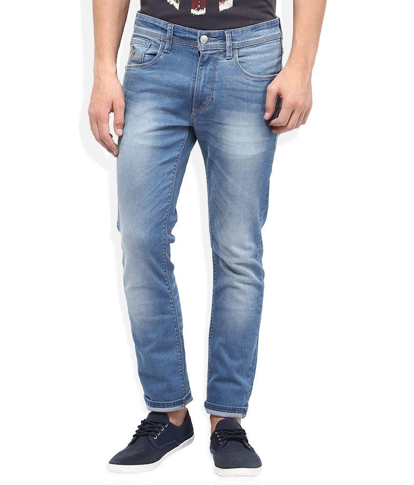 U.S.Polo Assn. Blue Skinny Fit Jeans