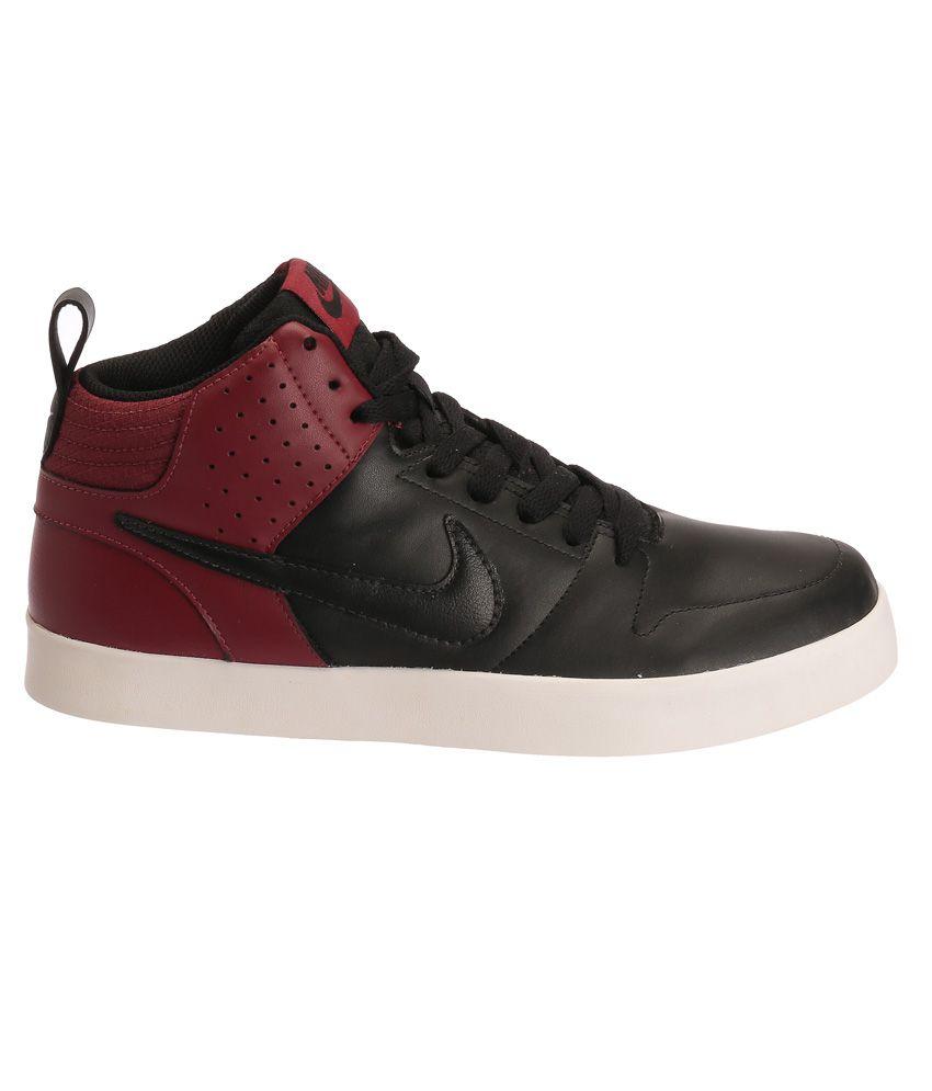 Nike Liteforce Iii Mid Sneaker Black Casual Shoes