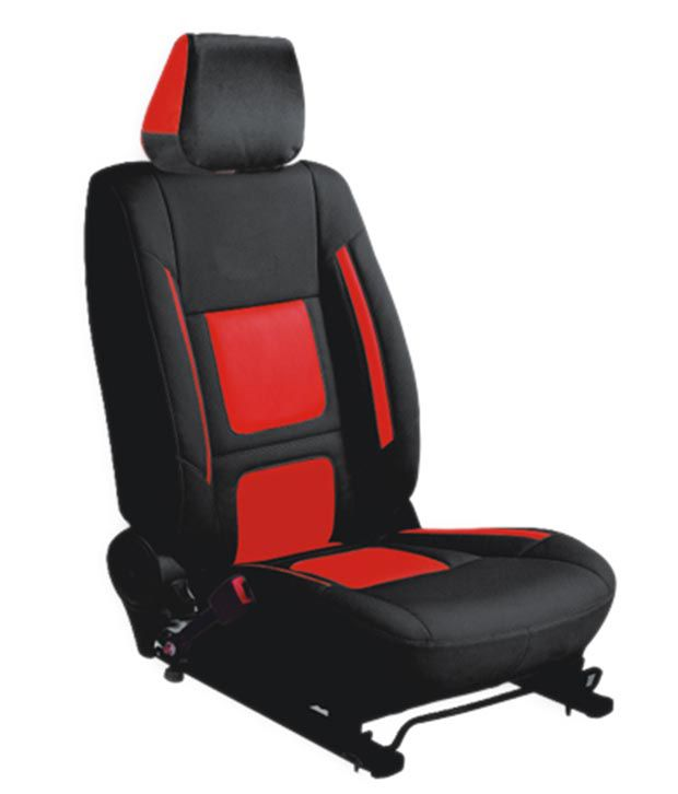 Classic Car Seat Cover Black Leather Car Seat Cover For